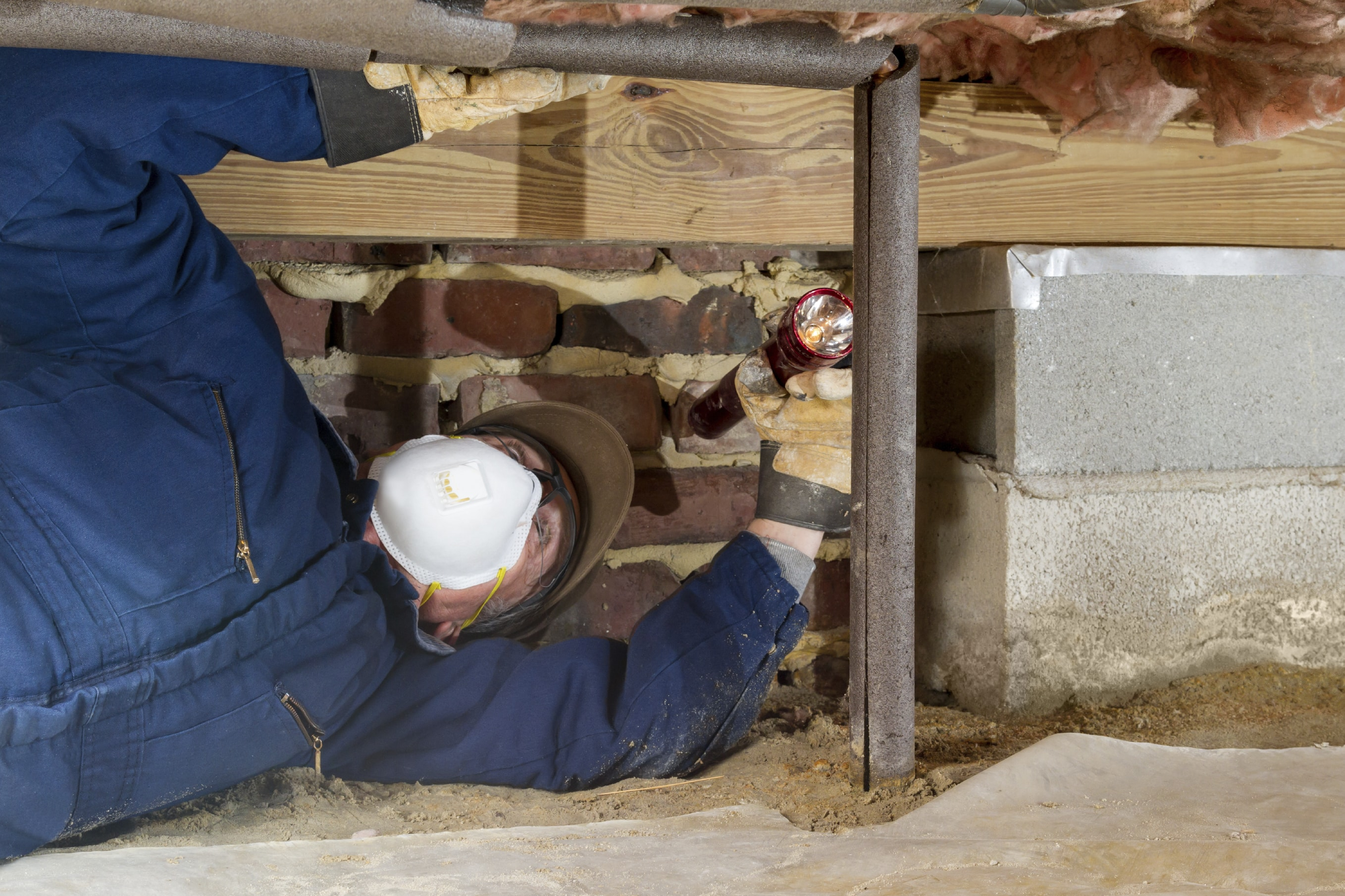 What 39 S Really Going On In Your Crawl Space Greenfit Homes
