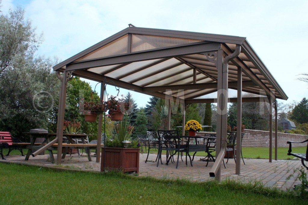 Enjoy summer more with a patio by greenfit homes for Freestanding patio cover