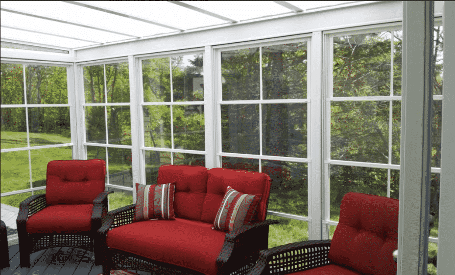 Sun Room Red Furniture