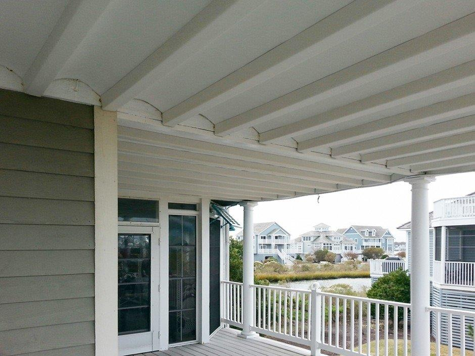 under deck ceiling cost effective outdoor living spaces greenfit homes 10616